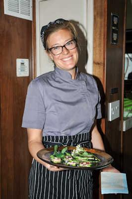 Sarah Serving
