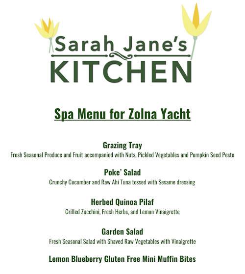 Zolna Yachts Sea Spa Package